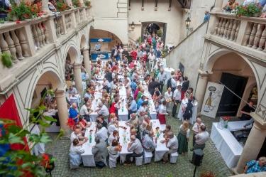 Benefizabend Schloss Allentsteig 18.06. 2013