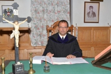 J.G.Grasel vor Gericht