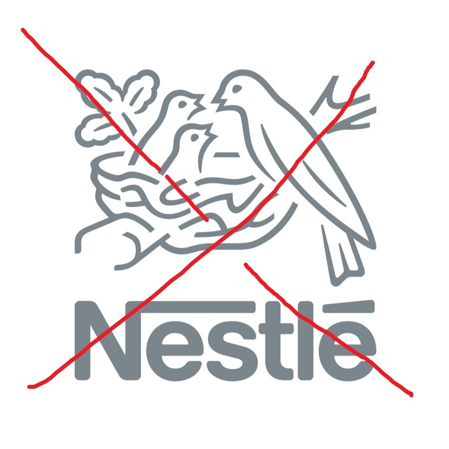 Wir boykottieren Nestlé!